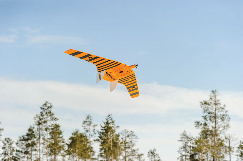 A new UAV for background radiation monitoring is developed for Russian meteorology and ecological monitoring corporation Rosgidromet