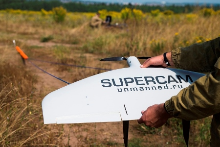 Supercam UAV is involved successfully in the works executed across Russia