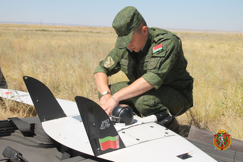 Partners from Belarus took part in the International Army Games 2018 using UAV Supercam